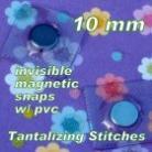 Magnetic Snaps Hidden 10mm