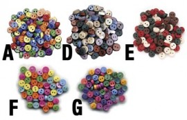 Doll Buttons 75pkg
